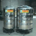 Tandon air stainless steel vepo 500 liter