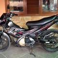Di jual cepat Suzuki Satria thn 2010