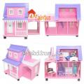 Mainan Anak Rumah Boneka Barbie Arthur Garasi