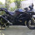Ninja 250 cc tahun 2012 special edisi