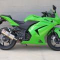 Jual cepat kawasaki ninja 4tak 250cc th 2012 kondisi original mulus
