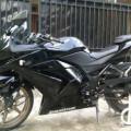 Kawasaki ninja 250cc 2011 plat B tangsel