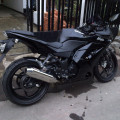 Ninja 250R black 2008 mulus istimewa..