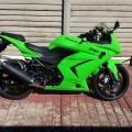 Ninja 250 2011 hijau like new