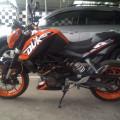 KTM Duke 200 Siap Kirim