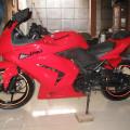 Ninja 250 2009 pajak on