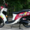 Yamaha Fino 125 Premium Bluecore Fi Mulus Gress Spt Baru
