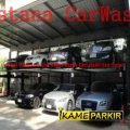 Istanacarwash Hidrolik Lift Parkir Mobil 2 Tiang 2 Silinder ikame