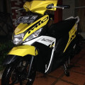 Yamaha mio m3 125fi 2015/2014 yellow
