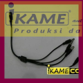 sambungan kabel power CCTV DC spliter 4 channel Aman Dan Terpercaya