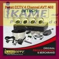 pasang cctv AHD 4 channel murah banget