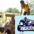 Peluang usaha - Kompresor Udara 5,5 PK  Motor Listrik