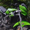 kawasaki Ninja R 150 thn 2015 istimewah