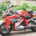 JUAL All New CBR 250RR 2017 Very Low KM 288 no ninja fi r25 mt25 r15 er6 r6 z250