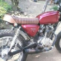 Honda megapro modif cb japstyle