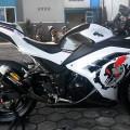 Kawasaki Ninja 250 FI ABS SE White Tahun 2014