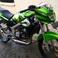 Kawasaki ninja 150 R 2013 padang