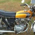 Motor Antik Honda CB 350 Tahun 1971