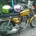 Sepeda Motor Honda Cb 200 Cc