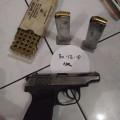 BAIKAL MAKAROV RUSIA kliber 9mm