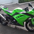 Kawasaki Ninja 250 fi 2013/2012 Hijau