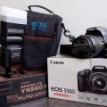 Dijual kamera CANON EOS 550D