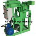 Mesin Press Bata Tanpa Bakar hasil 4 pcs