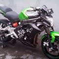 Kawasaki Ninja 650 alias ER6F (fairing) warna Hijau Candy tahun 2012