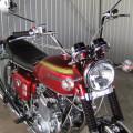 Honda CB350 tahun 1974 full chrome