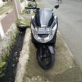 HONDA PCX 150 Warna hitam Plat D