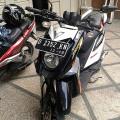 Yamaha X-Ride warna Hitam Putih Orange th 2013