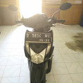 Honda Beat 2015 black sporty