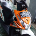 Honda Beat F1 2014 warna putih orange repsol