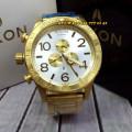 Nixon Circle 557666 Chrono Stainless GDDWHT