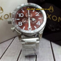 Nixon Circle 557666 Chrono Stainless SVDBRN