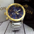 Nixon Circle 557666 Chrono Stainless SVLGDBLU