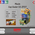 Mesin Cup Sealer CS-ZF07