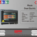 Mesin Oven Elektrik tipe DHB-4B