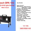 alat uji emisi gas buang mobil diesel qrotech