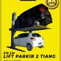 Hidrolik Lift Parkir Mobil 2 Tiang untuk rumahan