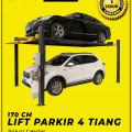 Parkiran Mobil Menggunakan Lift Parkir