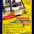 HIDROLIK LIFT PARKIR MOBIL 4 TIANG