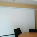 jual layar projector manual 244cm X 244cm