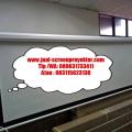 layar projector elektrik 244cm x 244cm
