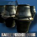 rubber fender super cone 900 termurah