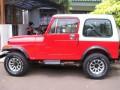 Dijual Jeep CJ7 Laredo sumbu lebar 1982