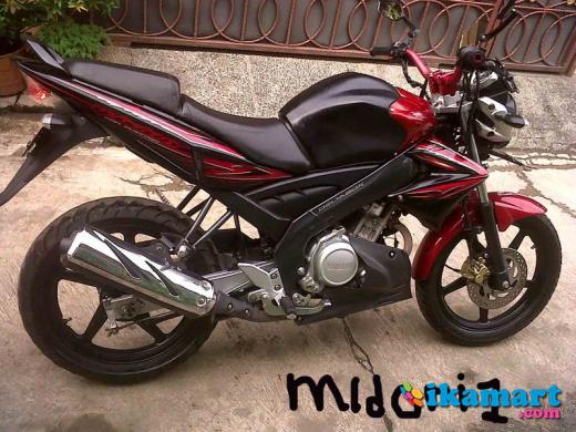 Jual Vixion 2010 Merah Maroon Modifikasi Tes Harga Motor Bekas