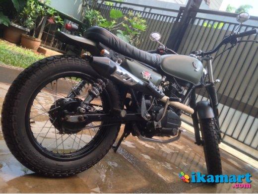 Jual Gl Pro 94 Black Engine Scrambler Modif Motor Bekas Honda Gl Pro