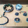 Platina/Advancer/rotor/stator Honda CB450
